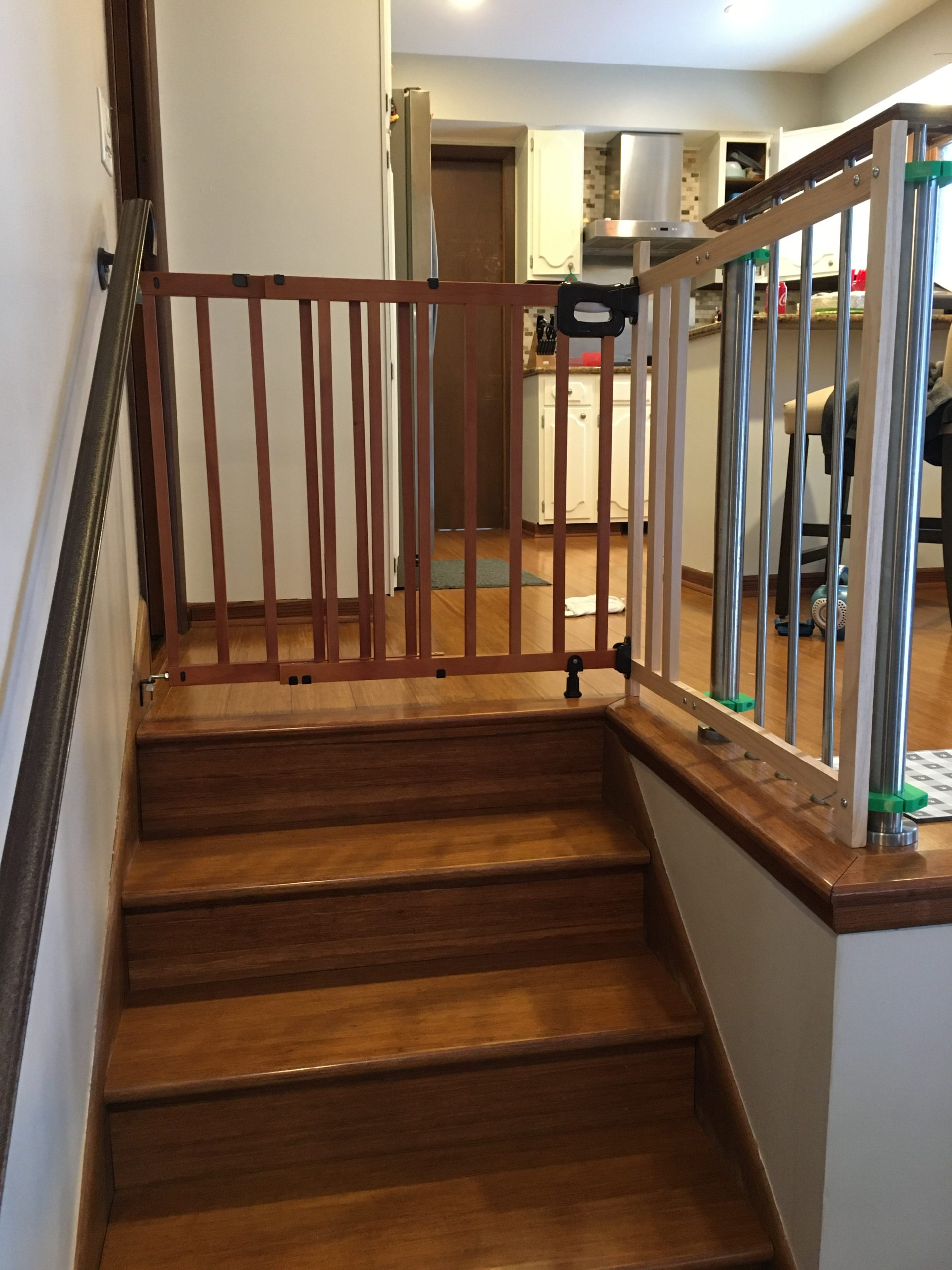 Semi-permanent Railing Extension For Baby Gate - Spurious ...